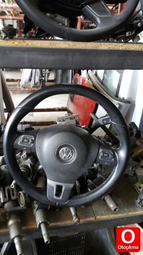 volkswagen golf 6 direksiyon simidi dolu orjinal çıkma - otoçıkma